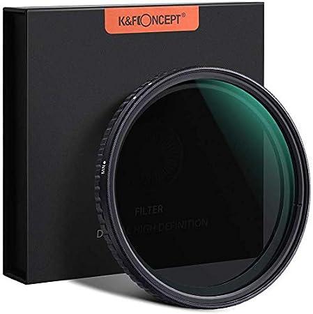 K&F Concept 77MM Nano-X Pro Vari ND MC ND2 ND32 فلتر 1 توقف إلى 5 إيقاف متغير 67