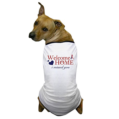 Dog Shirt Marine (CafePress - Welcome Home - Dog T-Shirt, Pet Clothing, Funny Dog Costume)