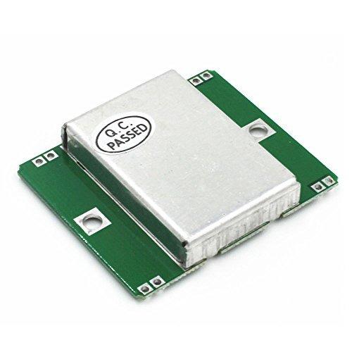 Solu HB100 Microwave Sensor Module 10.525GHz Doppler Radar Motion Detector Arduino//HB100 microwave Doppler Wireless Radar Detectors Velocity Sensor Motion Sensor (Detector Motion Microwave)