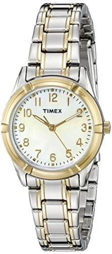 (Timex Women's TW2P761009J Style Elevated Analog Display Quartz Two Tone Watch)