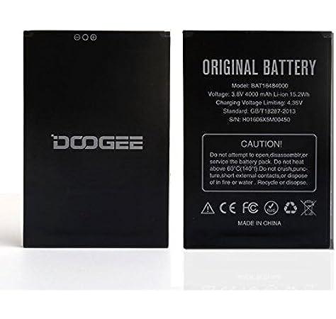Theoutlettablet® BATERIA para Smartphone DOOGEE X5 MAX / X5 MAX Pro 4000mAh: Amazon.es: Electrónica