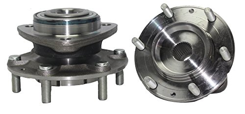 Brand New (Both) Front Wheel Hub and Bearing Assembly For - 2007-2008 Hyundai Entourage - [2006-2012 Kia Sedona]