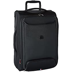"""Delsey Luggage Chatillon 21"""" Carry-on Exp. 2 Wheel Trolley, Black"""