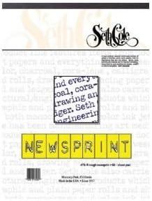 Newsprint Paper Pad Size 24 x 36
