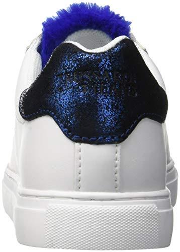 Scarpe Overseas Sneakers Tongue Jeans Blu da Lapin Fur Blu Trussardi Donna U240 Ginnastica XZFwP