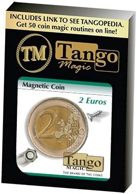 Magnetic Coin 2 € by Tango Magic: Amazon.it: Giochi e giocattoli