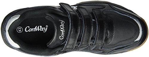 Conway 714975, Scarpe Sportive Indoor Unisex-Adulto, Nero (Schwarz), 46 EU