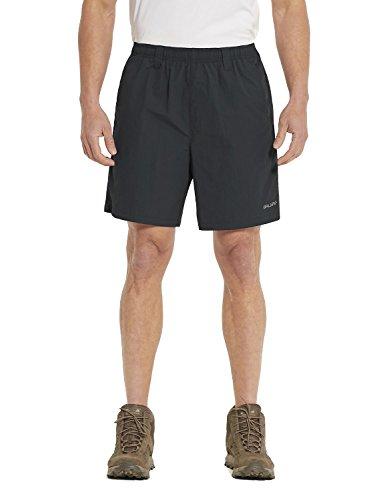 Upf Water - Baleaf Men's Zip Pocket Outdoor UPF 50+ Water Shorts Mesh Liner Black Size L