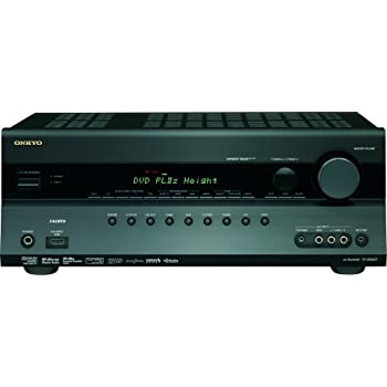 Onkyo TX-SR607 7.2-Channel A/V Surround Home Theater Receiver (Black) (Discontinued by Manufacturer)