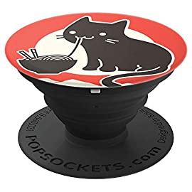 Japanese Kawaii Neko Ramen / Cute Cat Anime Gift – PopSockets Grip and Stand for Phones and Tablets