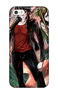 Fashion Tpu Case For Iphone 5/5s- Highschool Of The Dead Defender Case Cover