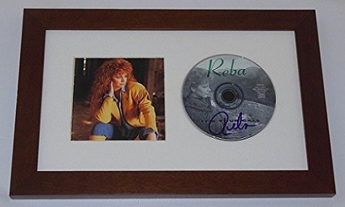 Reba McEntire It's Your Call Beautiful Signed Autographed Music Cd Compact Disc Framed Display Loa