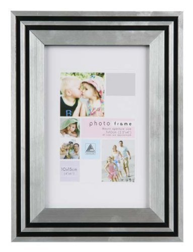 Amazon.com - Art Deco Style Black Silver Photo Picture Frame 8\