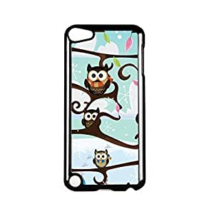 Owls Black Hard Plastic Case for Apple? iPod Touch 5th Gen by Nick Greenaway + FREE Crystal Clear Screen ProtectorKimberly Kurzendoerfer