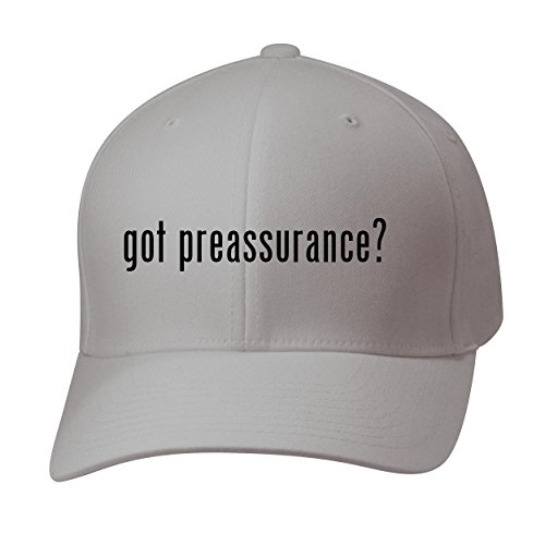 BH Cool Designs Got preassurance? - Baseball Hat Cap Adult, Silver, Small/Medium (Preassure Oven)