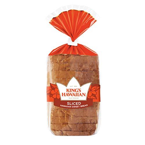 King's Hawaiian Original Hawaiian Sweet Sliced Bread 1 Count (Pack of three)
