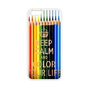 """Color your life Customized Case for Iphone6 4.7"""", New Printed Color your life Case wangjiang maoyi"""