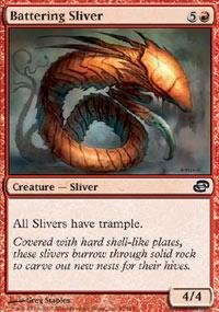 Magic: the Gathering - Battering Sliver - Planar Chaos (Sliver Deck Magic Gathering)