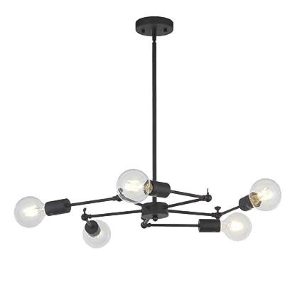 ACTW Lámpara Colgante LED, lámpara Colgante Minimalista ...