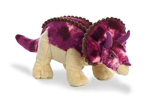 Aurora World Triceratops Dinosaur Plush, 14