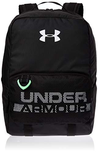 Under Armour Youth Armour Select Backpack, Black (001)/White, One Size Fits all