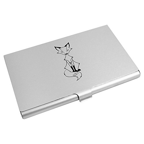 Holder Credit Card Fox' Azeeda CH00008006 Card Business 'Sitting Wallet FfqBwnI6