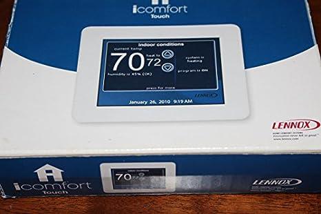 lennox touchscreen thermostat. icomfort touchscreen programmable thermostat (49w95) lennox c
