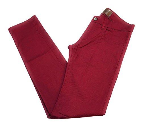 Dolce & Gabbana Mens Denim Stretch Luxury Pants Burgundy (46 (30 US)) Dolce & Gabbana Mens Clothing