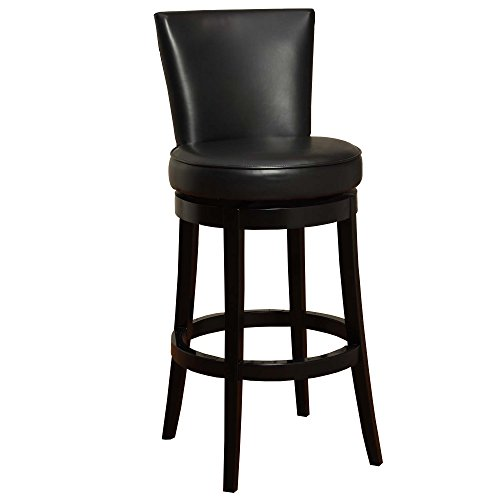 Sun Valley Swivel Wood (Armen Living Boston Swivel Bar Stool - - 30 in.)
