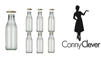 botellas de vidrio vacas botellas de leche de cristal mlmlml