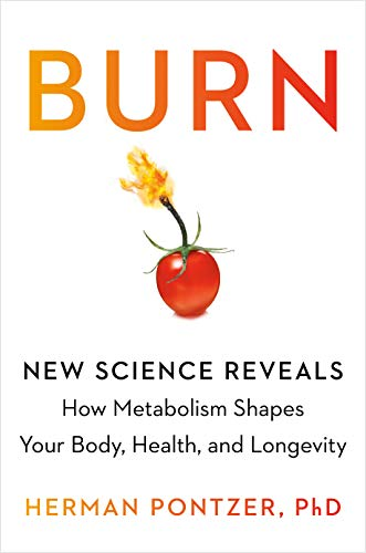 Book Cover: Burn: New Research Blows the Lid Off How We Really Burn Calories, Lose Weight, and Stay Healthy
