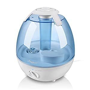 Ultrasonic Cool Mist Humidifier – Anypro Mist Air Humidifiers Ultra Quiet Water Humidifiers with 6 Optional Night Lights Multi Mist Modes Cool Mist Humidifiers for Baby Bedroom Home, Filter Free, 3.5L