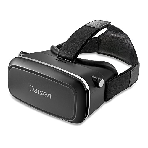 2016 New Daisen-tech Version 3D VR Virtual Reality Glasses Headset , Suitable for Google, iPhone, Samsung Note, LG, Huawei, HTC, Moto 4.5-6.0 inch screen smartphone
