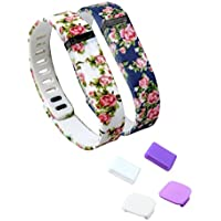 Fitbit Replacement Clasps Tracker Multicolors Noticeable