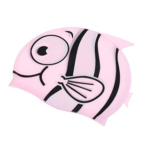 Sharplace Ensemble De Bonnet et Lunettes De Natation Pour Enfant Protection UV Accessoire Sport De l'eau