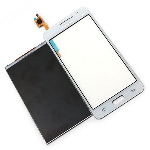 LCD Replacement Display Touch Screen Digitizer for Samsung Galaxy Grand Prime SM-g530 G530A G5308 G530E G530H G530W G530AZ G530FZ G530Y G5309W G530M G530F G530FZ G530DS G530BT (wihout Frame - White)