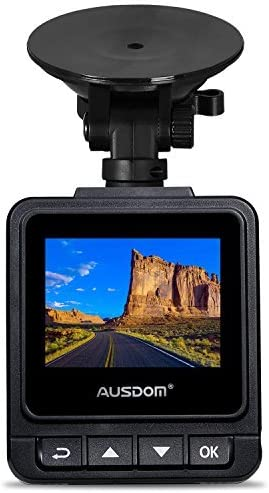 2 Inch View Screen Auto Car Dashboard Camera AUSDOM Dash Cam A261 1080P/&1296P Car Cmera Dvr with GPS G-Sensor,WDR for Auto Record