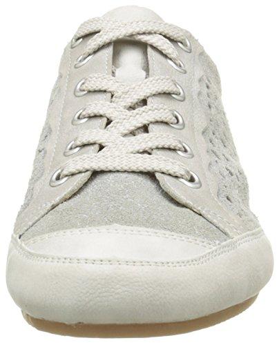 Rieker 57745 Dames Chaussures De Sport Blanc (glace / Quartz / Gris / Champignon / 81)