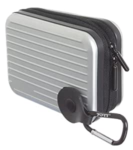 Port Designs PD400350 - Funda universal para cámara digital, plata