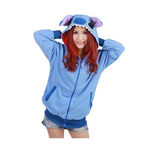 Harry Shops Halloweena Lilo & Stitch Costume Hoodie-Female-XX-Large (Adult Lilo Costume)