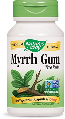Nature's Way Myrrh Gum, 100 Capsules