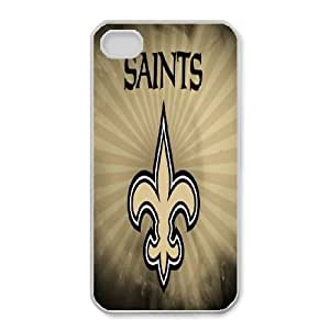 iphone4 4s Phone Case White New Orleans Saints JGL602805