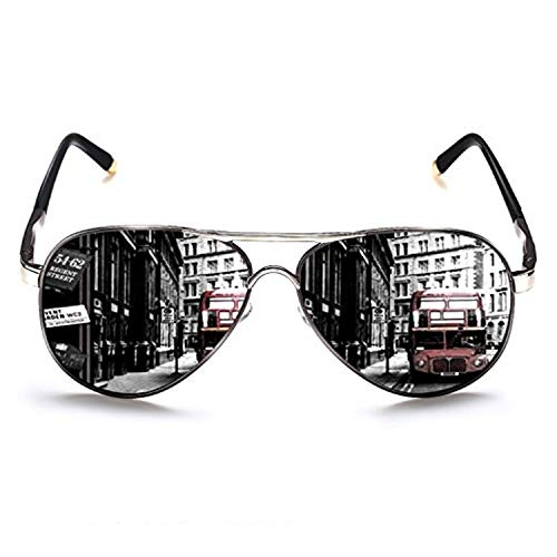 ROCKNIGHT Mens Sunglasses for Driving Fishing Polarized Aviator