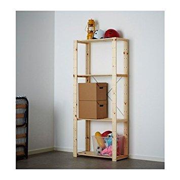 Cool Ikea Hejne Shelf Unit Softwood Download Free Architecture Designs Viewormadebymaigaardcom