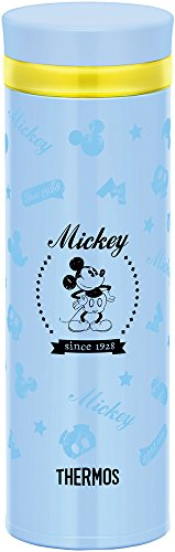 Thermos vacuum insulation cellular phone mug 0.35L Disney Blue JNO-351DS BL