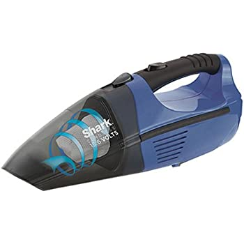 Shark Pet-Perfect Cordless Bagless Portable Hand Vacuum for Carpet and Hard Floor with Rechargeable 15.6V Battery (SV75Z), Gray