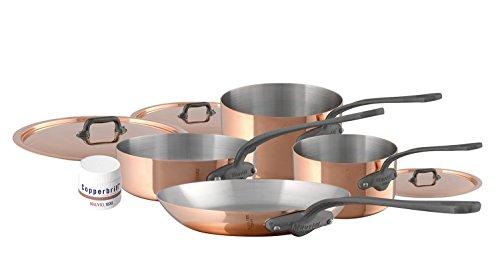 Mauviel M'Heritage M150C2 6450.02 -7 Piece Copper Cookwar...