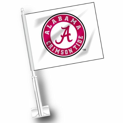 NCAA Alabama Crimson Tide Car Flag Set of 2 ETC