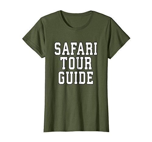 Womens Safari Tour Guide Halloween T-Shirt Costume XL Olive