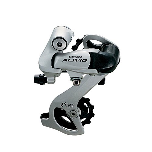 - JKSPORTS Shimano Tourney 6/7/8-Speed Mountain Bicycle Rear Derailleur (M410 Alivio 7/8-Speed Silver)